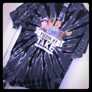 Pardon My Take tie dye t shirt